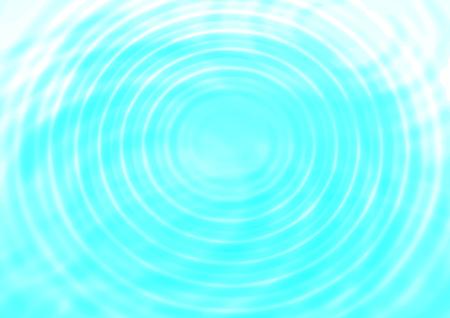 Ilustración de Abstract concentric water ripples blue background - Imagen libre de derechos