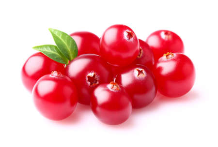 Photo for Cranberry with leaf - Royalty Free Image