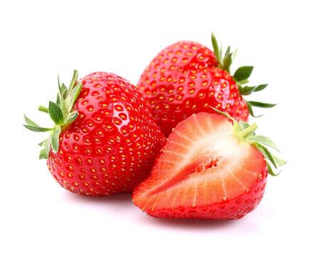 Foto de Fresh strawberries - Imagen libre de derechos