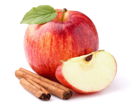 Photo for Apple with cinnamon - Royalty Free Image