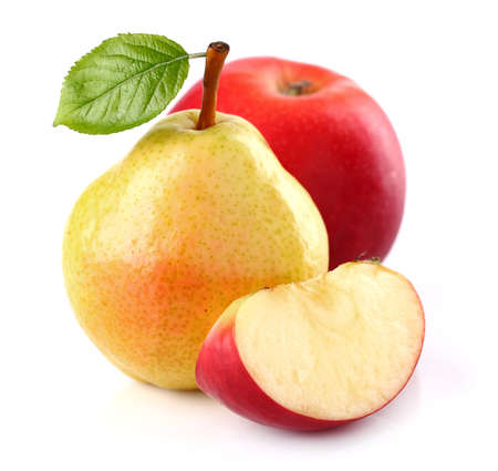 Photo for Pear with apple - Royalty Free Image