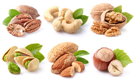 Photo for Nuts collage - Royalty Free Image