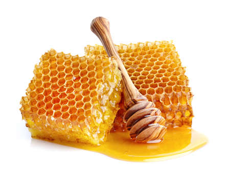Photo pour Honeycombs in closeup - image libre de droit