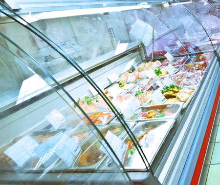 Photo pour refrigerated case - image libre de droit