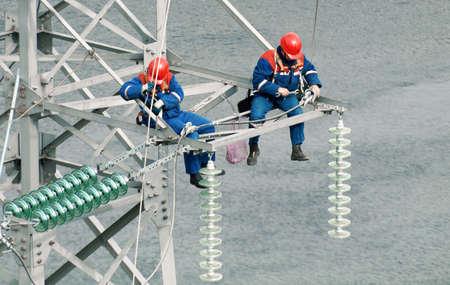 Foto de industrial wiremen - Imagen libre de derechos