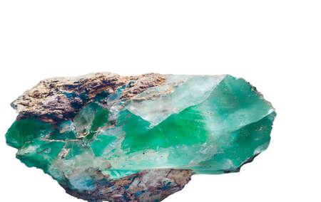 Photo pour Emerald crystal - image libre de droit
