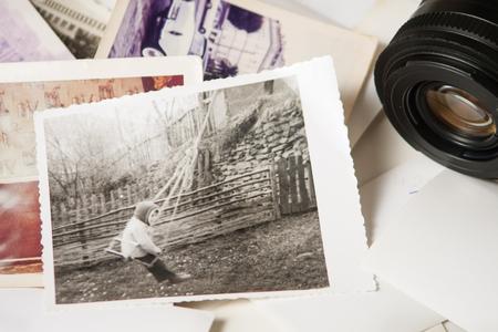 Foto de Old photograph memories - Imagen libre de derechos