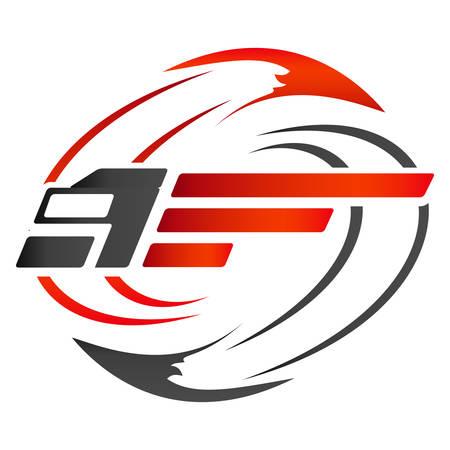 Photo pour truckers logo - image libre de droit