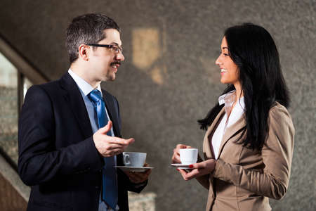 Foto de Business people talking - Imagen libre de derechos