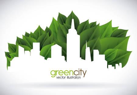 Ilustración de eco concept design, vector illustration eps10 graphic - Imagen libre de derechos