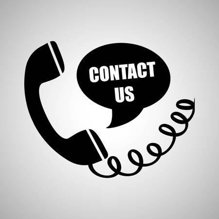 Illustration pour Phone concept with icon design, vector illustration 10 eps graphic. - image libre de droit