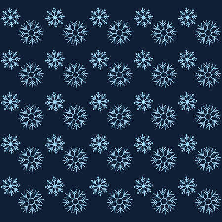Illustration pour winter snowflakes background, colorful design. vector illustration - image libre de droit