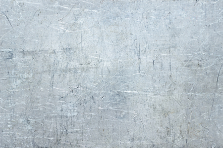 Photo for Antique metal texture, distorted stainless steel plate - Royalty Free Image