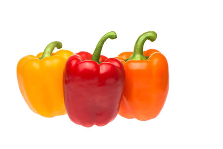 Photo pour Traffic light peppers - image libre de droit