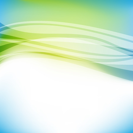 Illustration pour Abstract colorful blue and green background. vector illustration, transparency and gradients used - image libre de droit