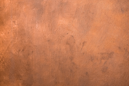 Photo for copper painted metal plate - Royalty Free Image