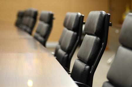 Photo pour Meeting room for business concept and design - image libre de droit