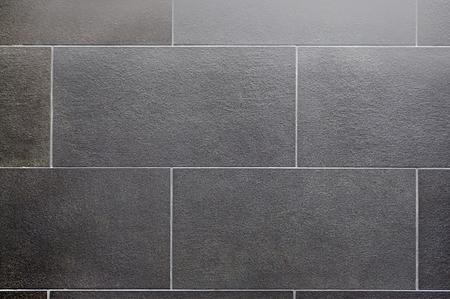 Photo pour ceramic tile, seamless texture square dark gray - image libre de droit