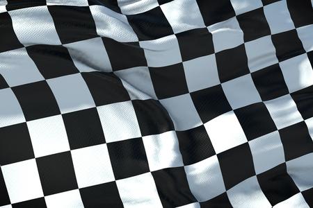 Foto de checkered flag, end race background - Imagen libre de derechos