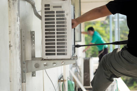Photo for Cleaning air conditioning - Royalty Free Image
