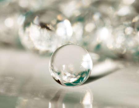 Foto de Balls of the hydrogel - Imagen libre de derechos