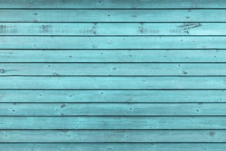 Foto de Rustic Old Weathered Blue Wood Plank Background extreme closeup - Imagen libre de derechos