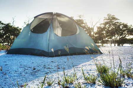 Camping in the Everglades