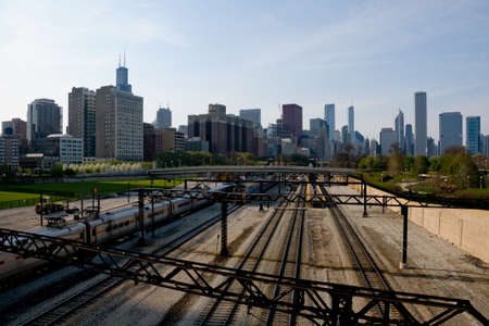 Chicago with Railroad
