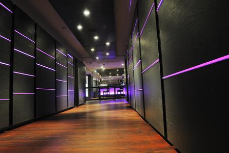 Photo for modern design club restaurant bar indoors - Royalty Free Image