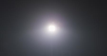 Photo for stadium lights reflectors against black background - Royalty Free Image