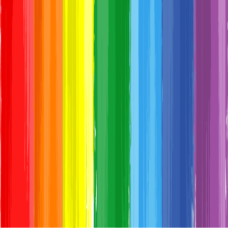 Illustration for Art rainbow color paint splash vector background - Royalty Free Image