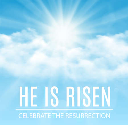 Photo for He is risen. - Royalty Free Image
