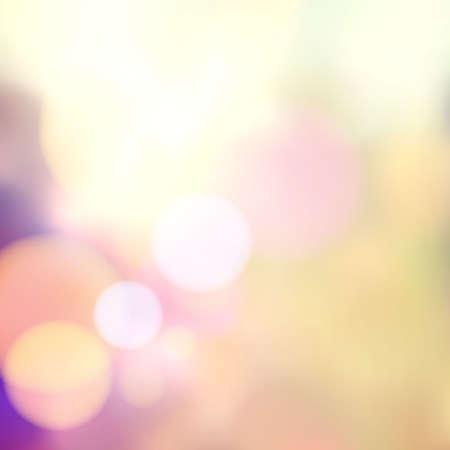 Ilustración de Vector blurry soft background with photographic bokeh effect. Smooth unfocused film effect. Pale romantic pink and purple tones. Retro light leaks. - Imagen libre de derechos