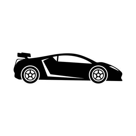 Ilustración de Sports car icon. - Imagen libre de derechos