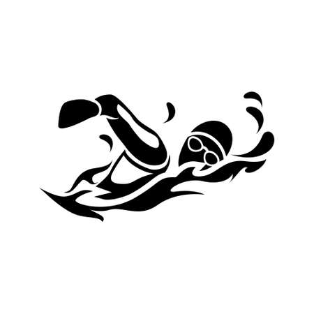 Ilustración de swimming   icon - Imagen libre de derechos