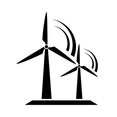 Ilustración de Windmill icon - Imagen libre de derechos