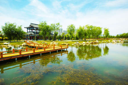 Photo pour Silk Road Cultural Park - image libre de droit