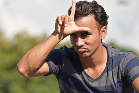 Foto de Young Male Bully - Imagen libre de derechos