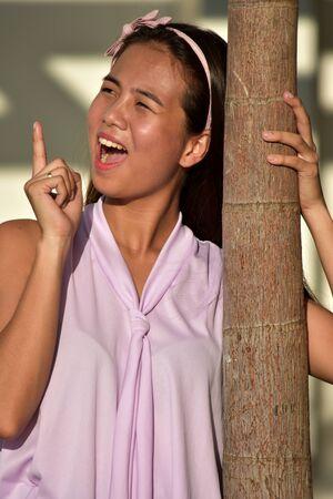 Photo pour Creative Attractive Adult Female - image libre de droit