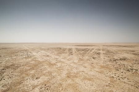 Foto de amazing dry lake sahara desert morocco - Imagen libre de derechos