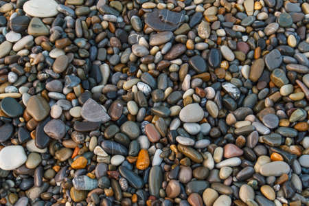 Photo for Abstract background with stones. Pebbles, coast. Abstract background with stones. - Royalty Free Image