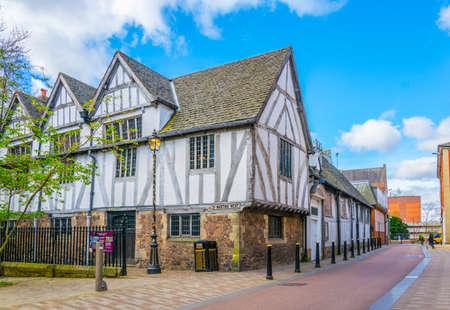 Photo pour guild hall in leicester, England  - image libre de droit