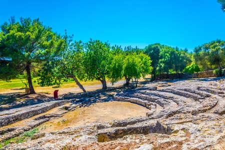 Photo for Roman theatre of Pollentia at Alcudia, Mallorca, Spain - Royalty Free Image