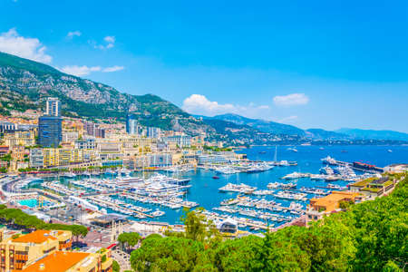Photo for Port Hercule in Monaco - Royalty Free Image