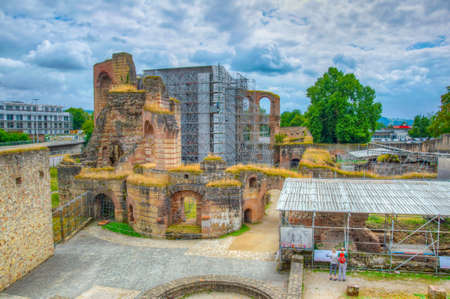 Photo for Ruins of Kaiserthermen in Trier, Germany - Royalty Free Image