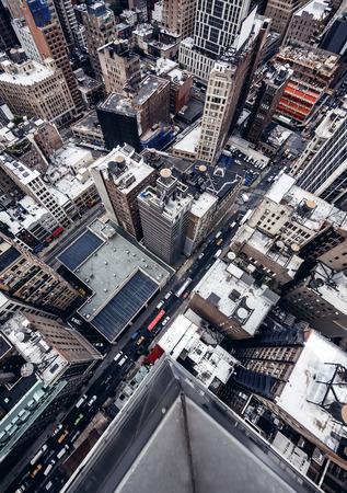 Foto de City buildings in New York - Imagen libre de derechos