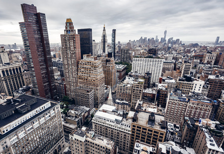 Photo for City buildings in New York - Royalty Free Image