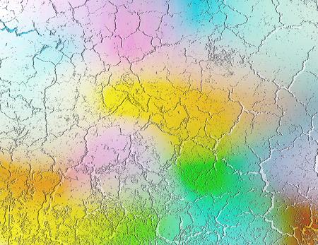 Ilustración de colored plaster background, vector illustration - Imagen libre de derechos
