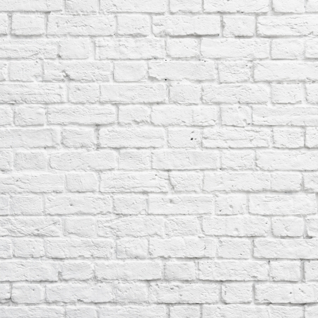 Photo pour White brick wall texture or background - image libre de droit