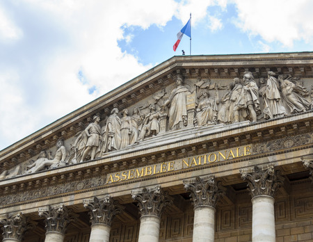 Photo for The Assemblée Nationale building in Paris, France - Royalty Free Image
